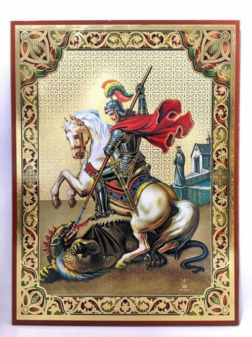 Russian Style frame of St. George